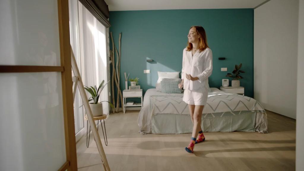 Dans mee tegen muco op je sokken