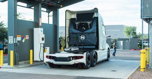 Nikola veut un réseau européen de bornes de recharge à hydrogènes pour ses camions