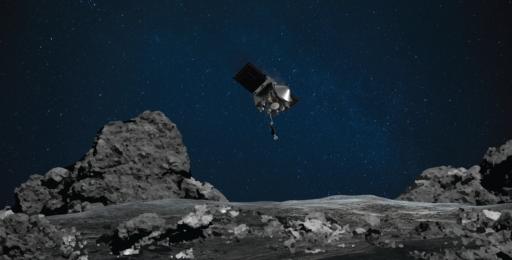'Touchdown declared': NASA hoopvol dat historische missie erin geslaagd is om een stuk asteroïde te bemachtigen