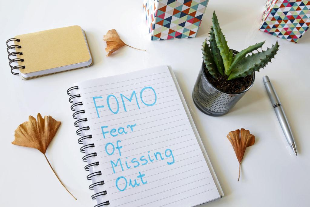 Hoe omgaan met Fomo (Fear of missing out): Hoe niets te missen?