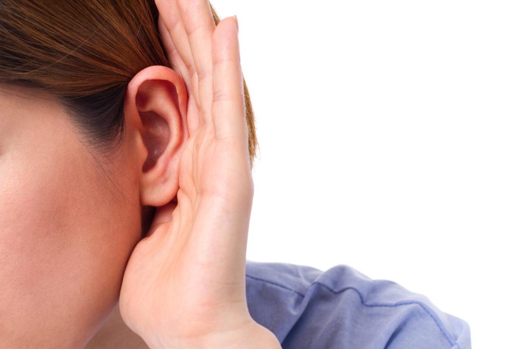 Een onzichtbaar hoorapparaat?
