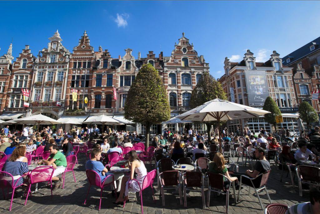 Leuven - De Oude Markt