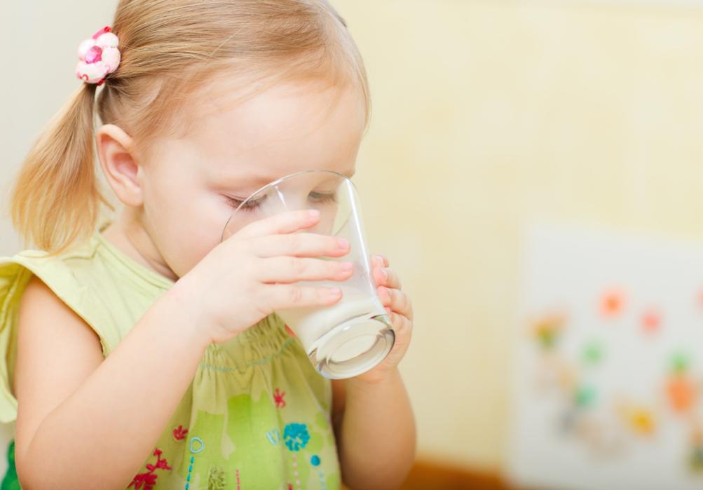Peuters en hun melk