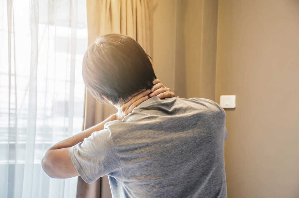 Pijnlijke gewrichten bij het wakker worden