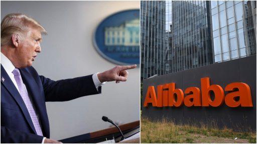 Wordt Alibaba het volgende Chinese bedrijf dat Trump viseert?