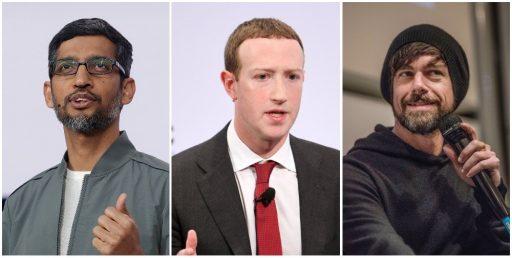 Amerikaanse Senaat roept Facebook-, Google- en Twitter-topman op het matje