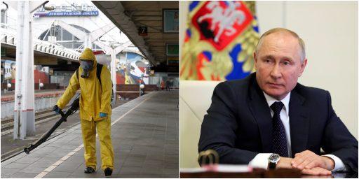 Poetin verplicht Russen een week betaald verlof te nemen om aantal coronabesmettingen te beperken