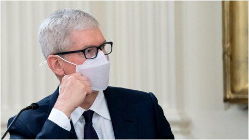 Apple verhoogt druk op personeel om zich te laten vaccineren