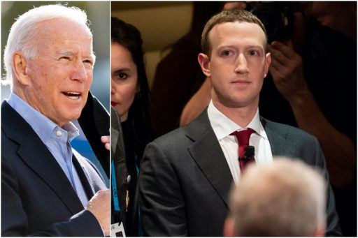 Bidens tegenstander is niet Donald Trump, het is Facebook