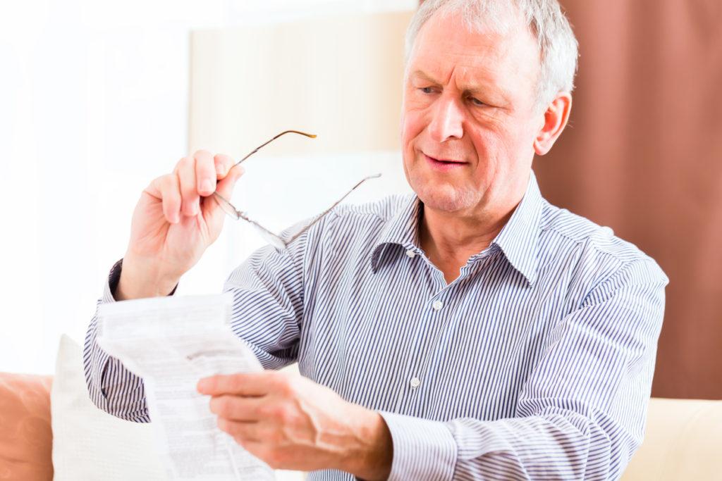 Presbyopie of ouderdomsverziendheid: dit kun je doen