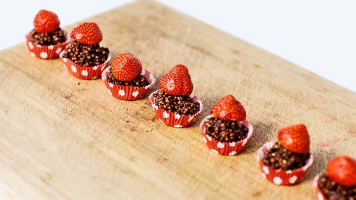 Quinoa-pops: een lekkere en gezonde snack