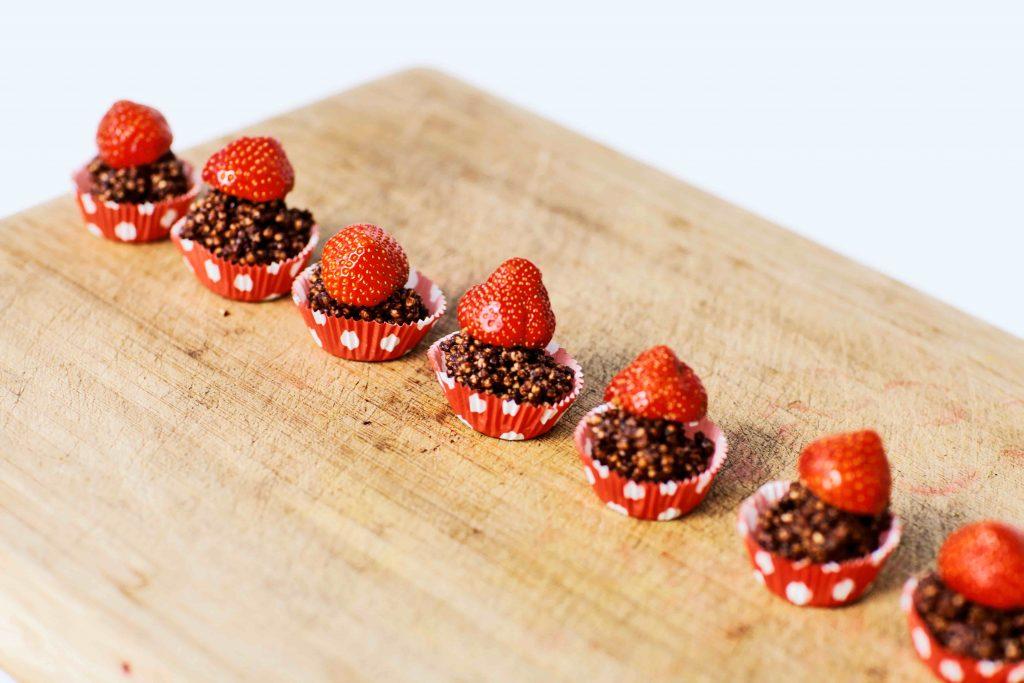 RECEPT Quinoa-pops van onze voedingsexpert Lynn De Merlier