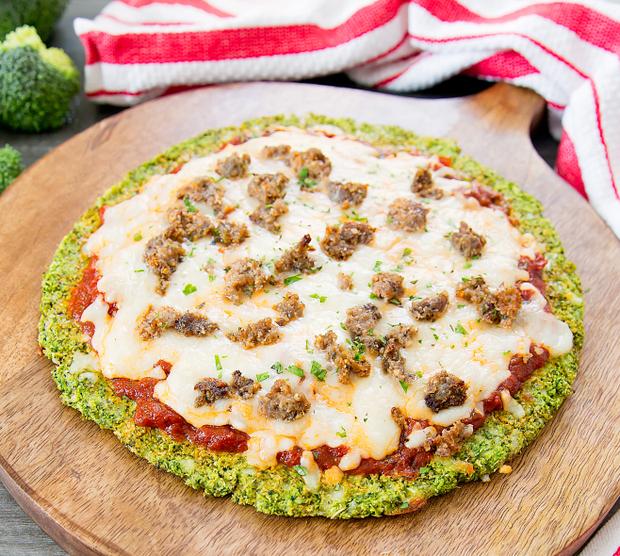 Recept : Broccoli pizza