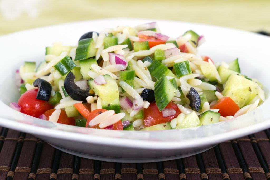 Recept : Griekse pastasalade