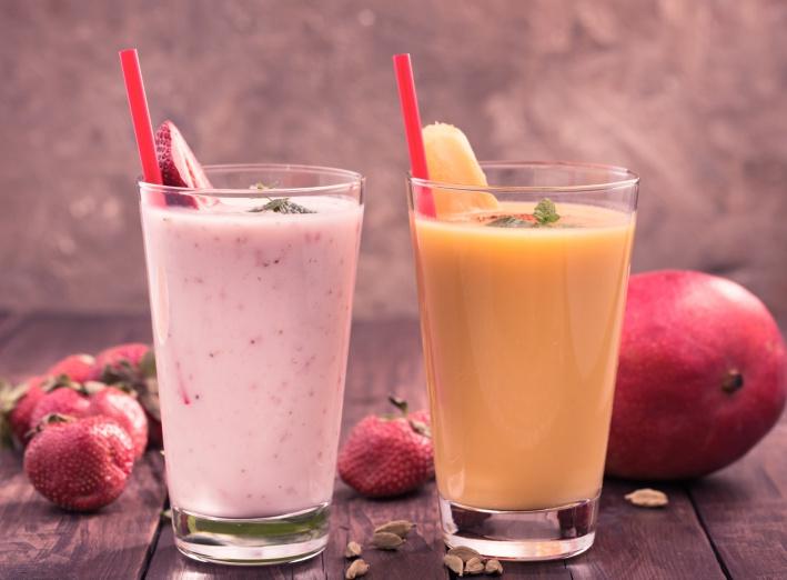 Recette smoothie aux fraises