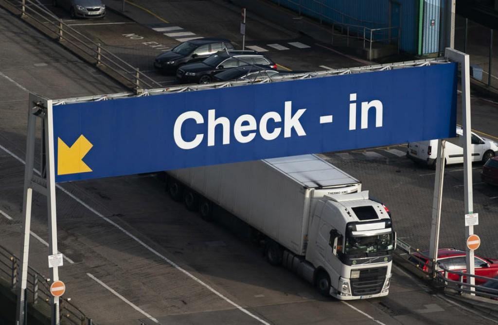 Le gouvernement britannique réserve près de 800 millions d'euros pour les contrôles des frontières après le Brexit