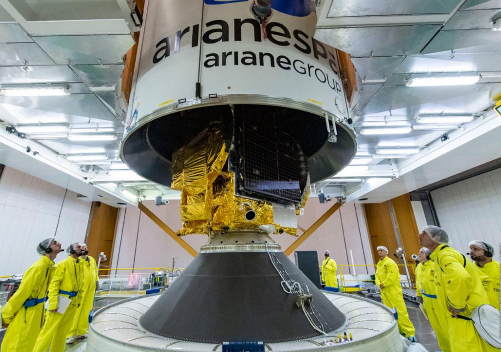 Trois entreprises belges embarquent à bord de la fusée Ariane 6