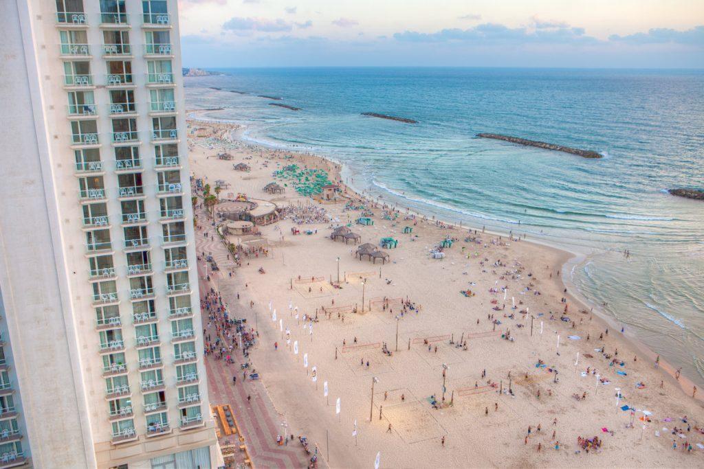 5x Tel Aviv - Naar het strand