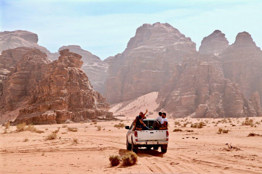 Jordanië - Wadi Rum jeepsafari