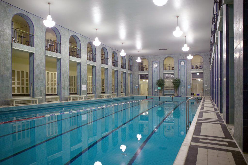 Sauna Finland - Yrjönkatu Swimming Hall