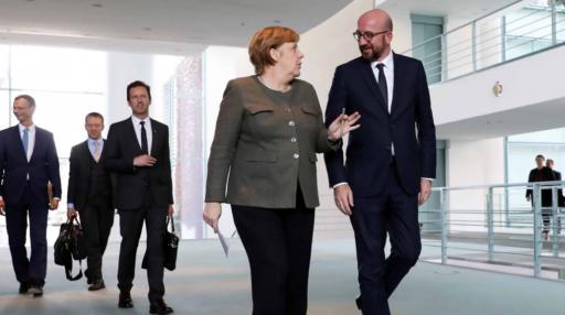 Plan de sauvetage européen: Merkel fait de l'ombre à Charles Michel