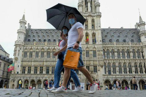 Le port du masque devient obligatoire partout à Bruxelles