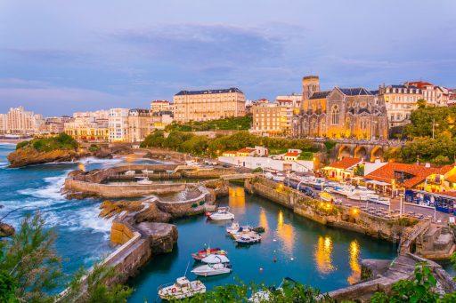 De andere kant van Biarritz