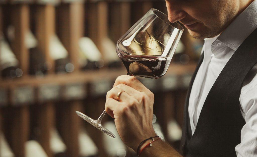wijn ruiken