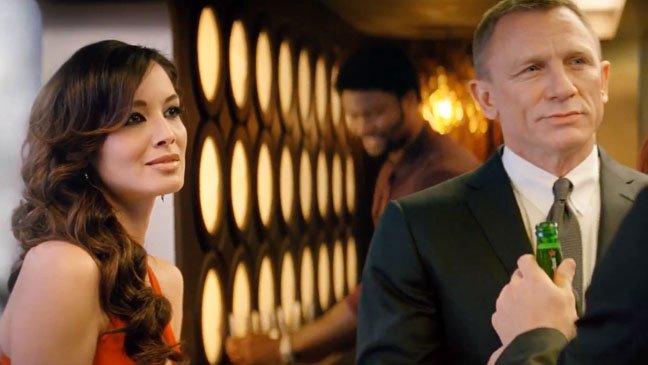 Le placement de produit Heineken dans Skyfall (James Bond)
