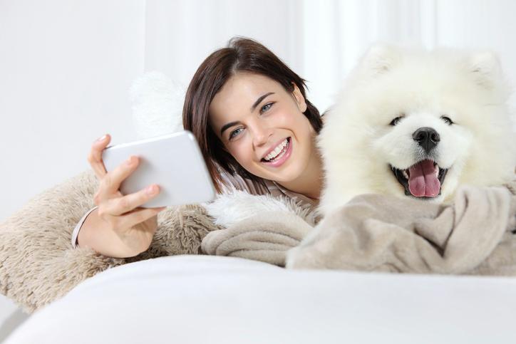 Slapen met je huisdier zorgt voor een goede nachtrust
