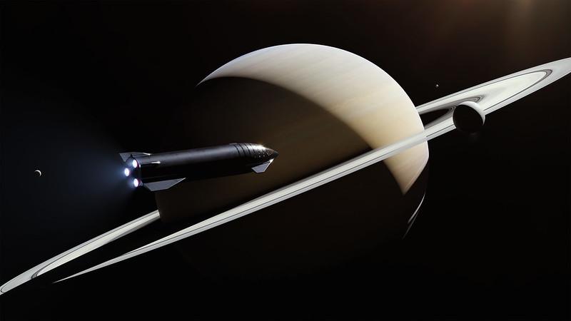 Elon Musk toont zijn 'Starship' aan de wereld