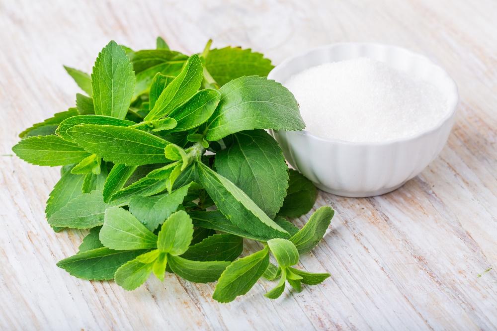 Stevia is een natuurlijk zoetje