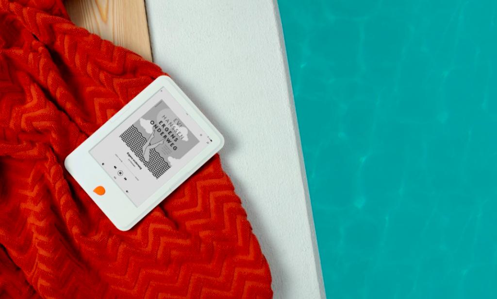 Vangst van de dag: de gloednieuwe e-reader van Storytel