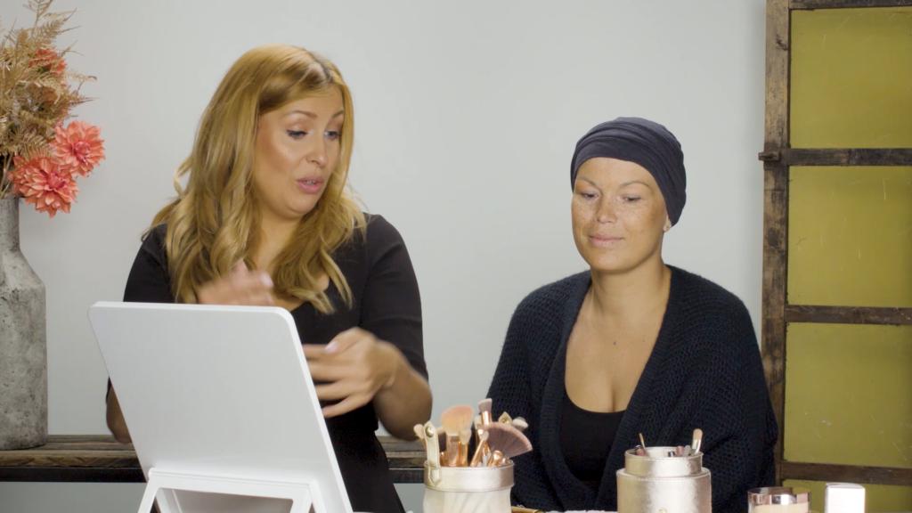 Stralen ondanks kanker: make-up tijdens de chemo