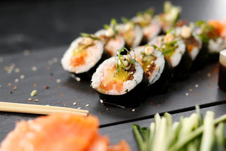Sushi maakt slimmer: Eten maar!