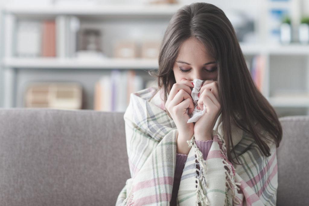 Symptomen longontsteking