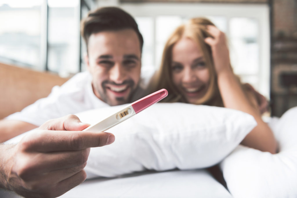 Werking van een zwangerschapstest
