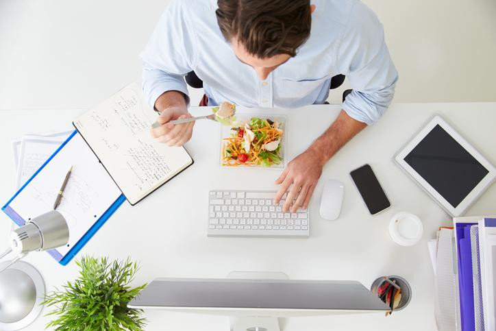 Tips om gezonder te eten op het werk