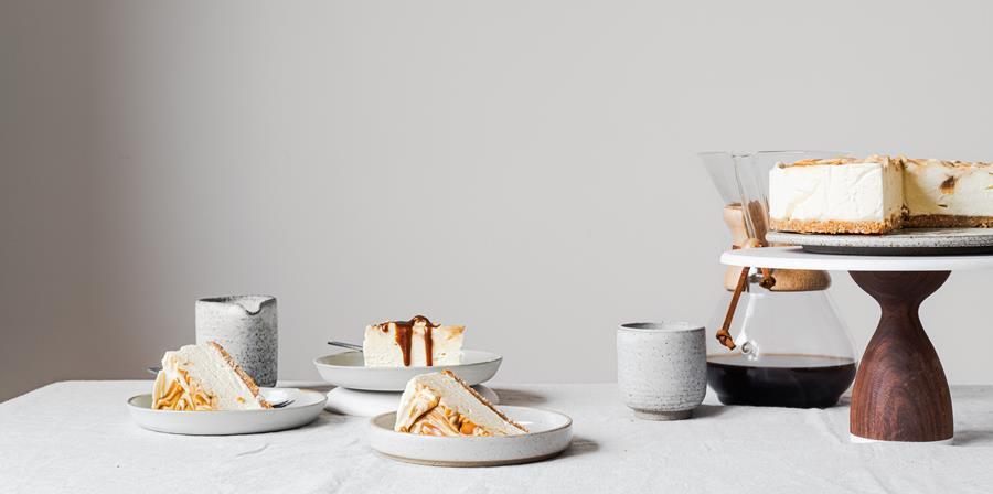 RECEPT Cheesecake met koffiecaramel