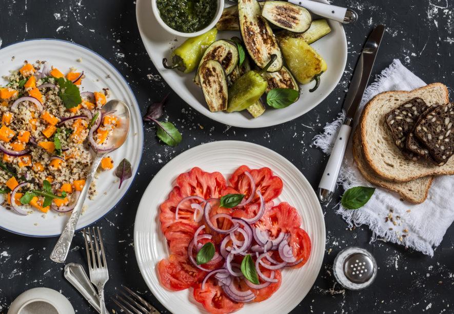 5 simpele vegetarische gerechten