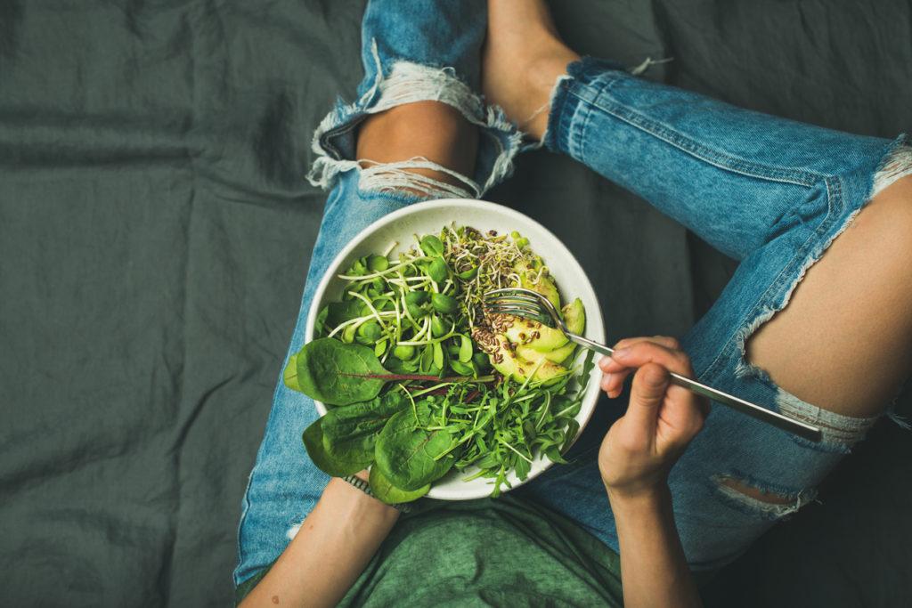 Waaruit bestaat een gevarieerd vegetarisch dieet?