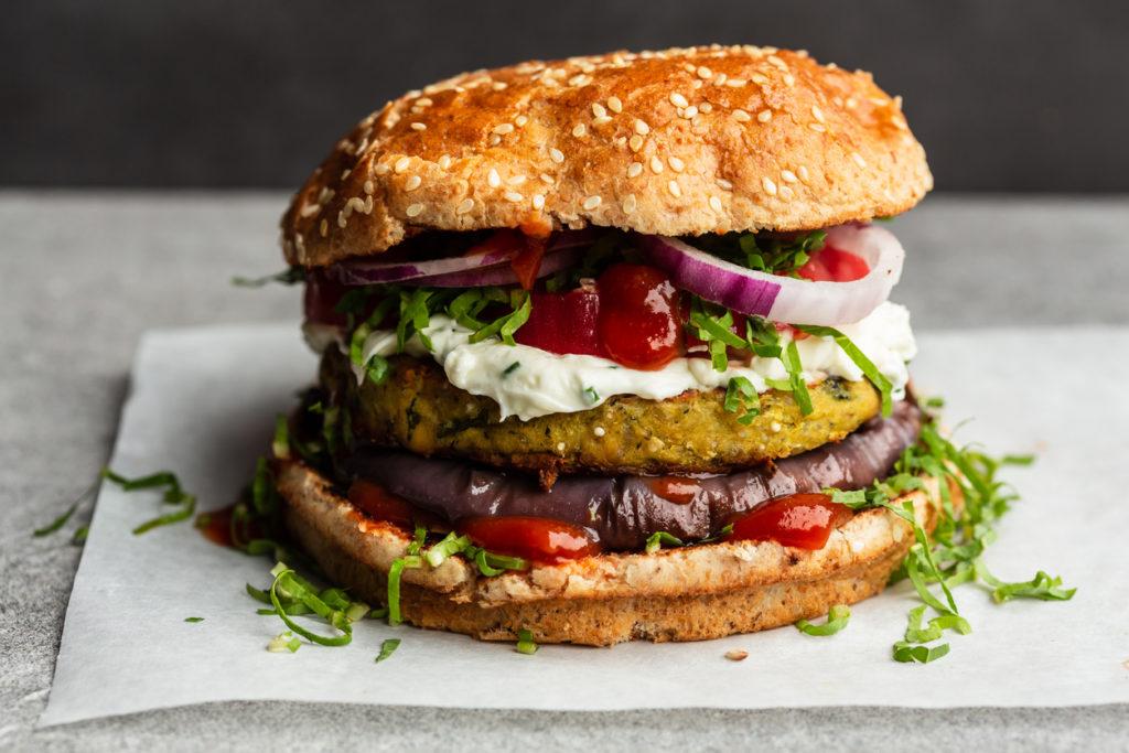 Hoe gezond zijn vegetarische burgers?