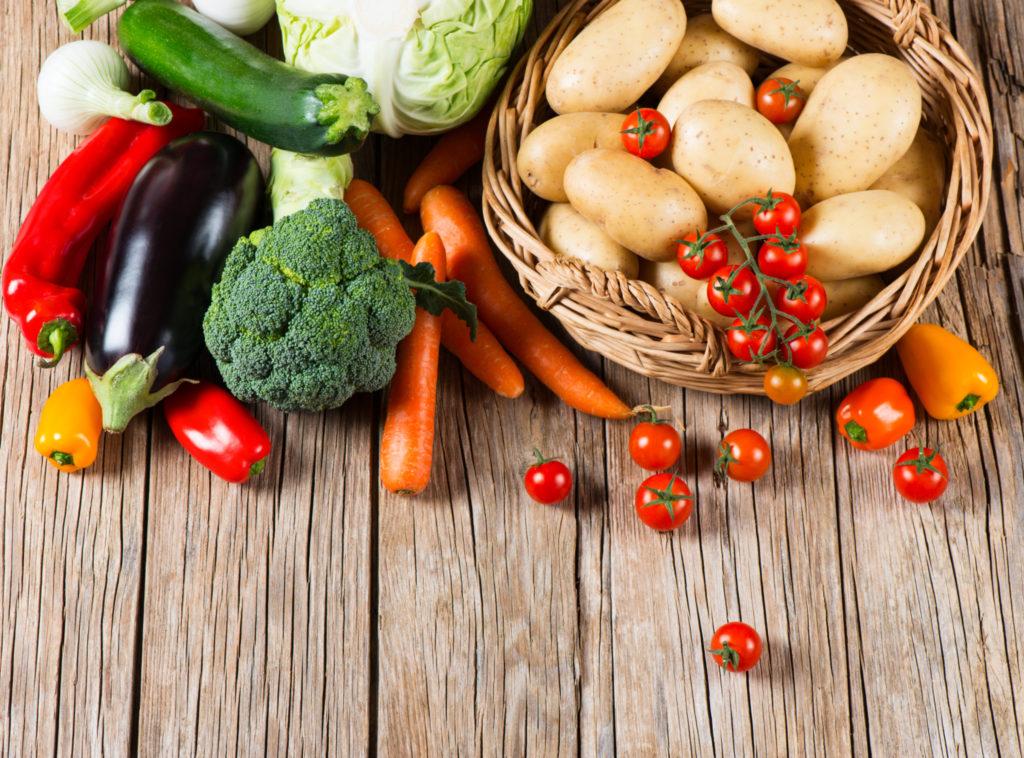 De voordelen van rauwe groentjes
