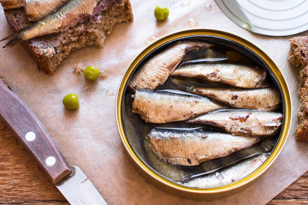 Voordelen van vis in blik