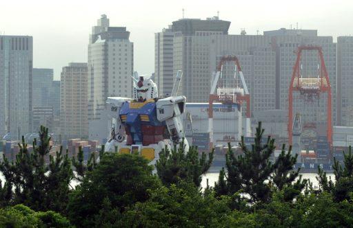 'Gundam': le plus grand robot du monde a fait ses premiers pas, et ça se passe où vous savez…
