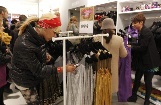 Enseignes de mode: jusqu'à  35% de pertes par rapport à 2019