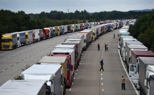 Brexit: 'Des files d'attente de 7.000 camions après la fin de la période de transition'