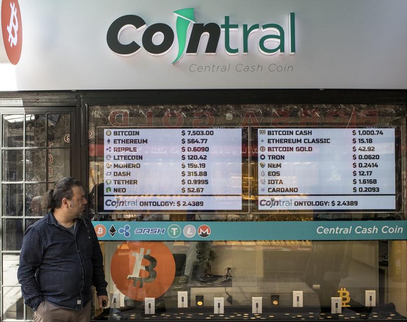 Bitcoin zit in een neerwaartse spiraal.