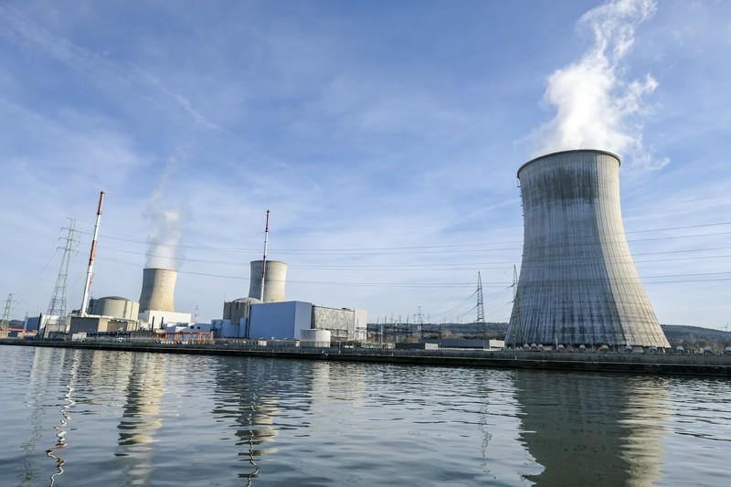 De kernfabriek van Electrabel-Engie in Tihange. - EPA/JULIEN WARNAND