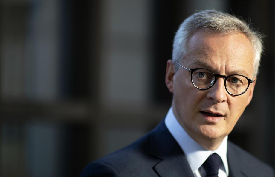 Le ministre français des Finances, Bruno Le Maire